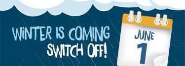 Winter Sprinkler Switch Off - Lead up